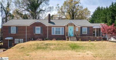 Greer Single Family Home For Sale: 100 Cunningham