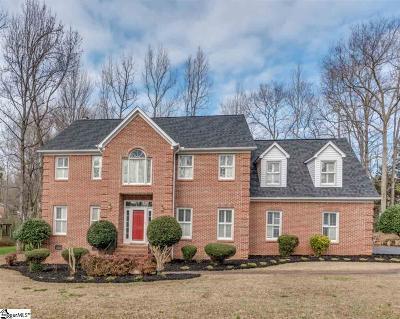 Greer Single Family Home For Sale: 113 Baucom Park