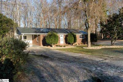 Spartanburg Single Family Home Contingency Contract: 110 Walden