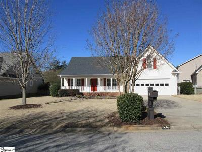 Greer Single Family Home For Sale: 14 Overcup