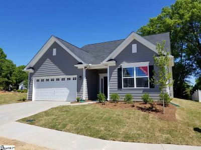 Simpsonville Single Family Home For Sale: 3 Nearmeadows #lot 2