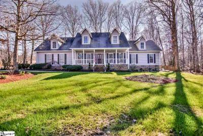 Simpsonville Single Family Home For Sale: 9 Holly Trace