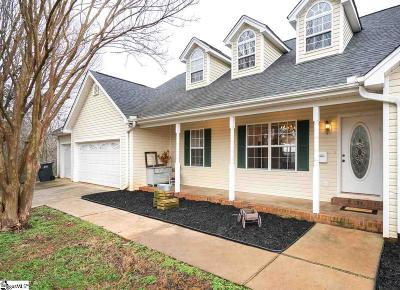 Greenville SC Single Family Home For Sale: $285,000