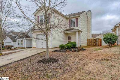 Greenville SC Single Family Home For Sale: $159,900