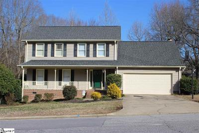 Simpsonville Single Family Home For Sale: 406 Spring Meadow