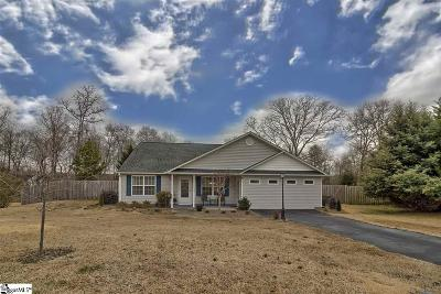 Simpsonville Single Family Home For Sale: 6 Patriots Pride
