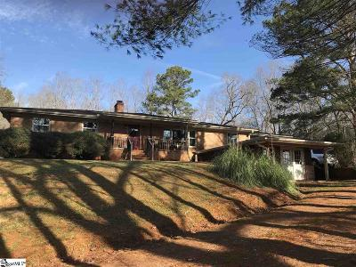 Single Family Home For Sale: 156 Hagood Mill