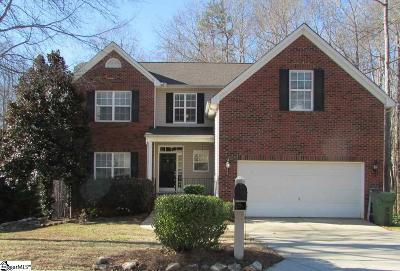 Mauldin Single Family Home For Sale: 20 Trailstream