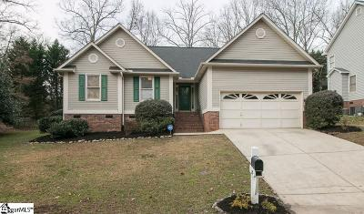 Simpsonville Single Family Home For Sale: 217 Two Gait
