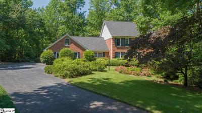 Spartanburg Single Family Home For Sale: 1612 Hollyberry