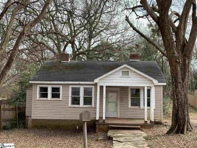Greenville Single Family Home Contingency Contract: 4 Eastlan