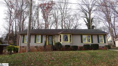 Greenville Single Family Home For Sale: 29 E Castle