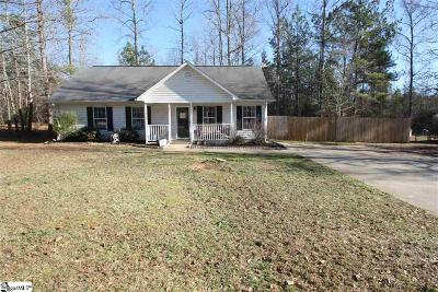 Woodruff Single Family Home For Sale: 109 Old Timber