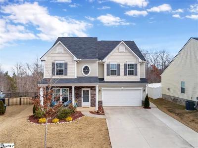 Simpsonville SC Single Family Home For Sale: $319,900