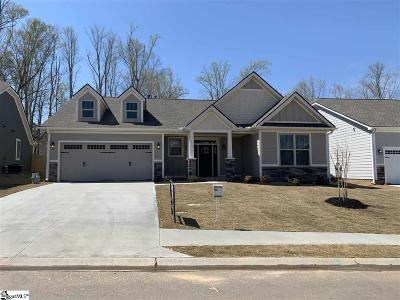 Simpsonville Single Family Home For Sale: 415 Longfellow #Lot 28