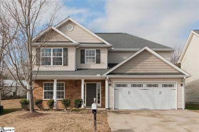 Simpsonville Single Family Home For Sale: 6 Falling Springs