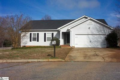 Greenville SC Single Family Home For Sale: $179,000