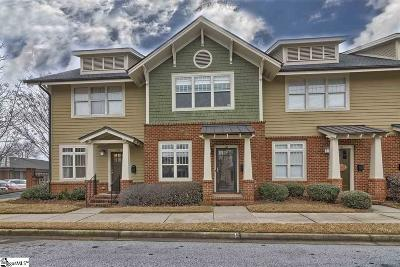 Greenville SC Condo/Townhouse For Sale: $267,999