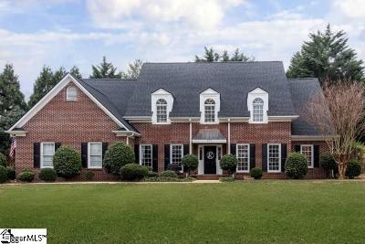 Simpsonville Single Family Home For Sale: 107 Red Fern