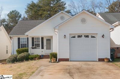 Greer Single Family Home For Sale: 125 Cosmos