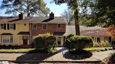Spartanburg Condo/Townhouse For Sale: 104 Birch Grv