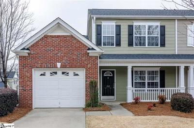 Greenville SC Condo/Townhouse For Sale: $189,900