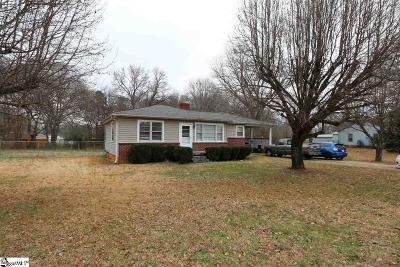 Greer Single Family Home For Sale: 226 West