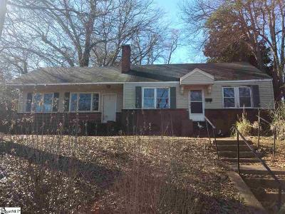 Spartanburg Single Family Home For Sale: 150 North Cleveland Park