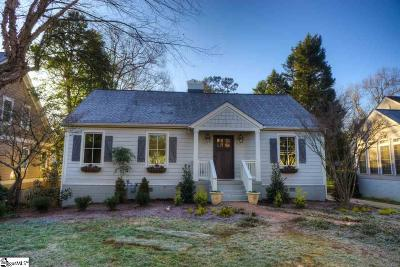 Greenville SC Single Family Home For Sale: $628,900