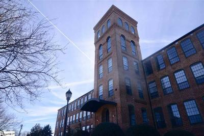 Greenville Condo/Townhouse For Sale: 400 Mills #Unit 101