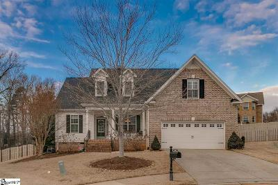 Greer Single Family Home For Sale: 208 Aldgate