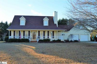 Easley Single Family Home For Sale: 125 Rochester