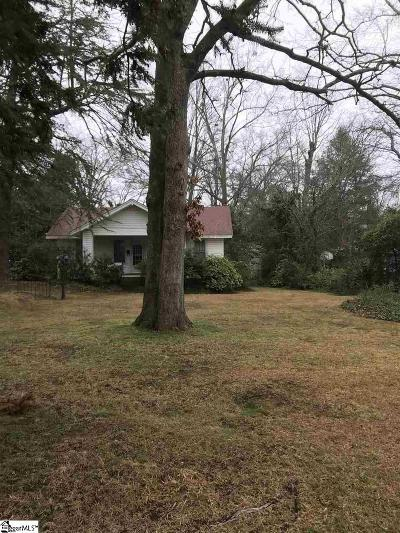 Greenville Single Family Home For Sale: 628 Summit