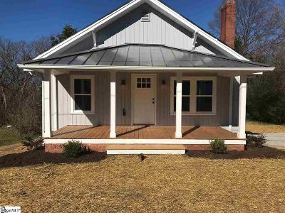 Easley Single Family Home For Sale: 109 McDaniel