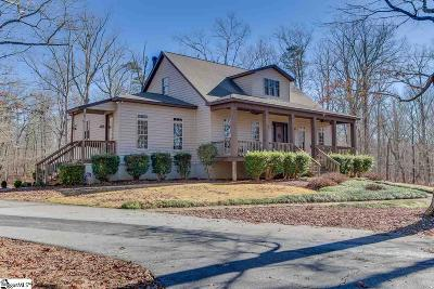 Pelzer Single Family Home For Sale: 121 Chapman Grove