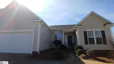 Greenville County Single Family Home Contingency Contract: 45 Bellows Falls