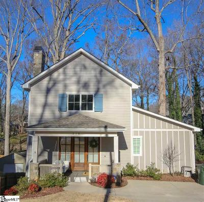 Greenville SC Single Family Home For Sale: $439,900