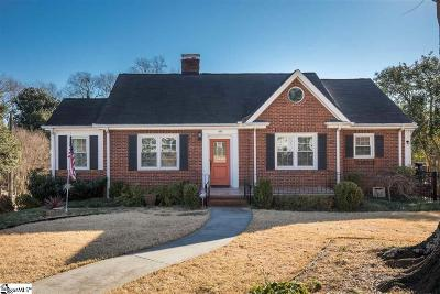 Greenville Single Family Home For Sale: 418 Longview