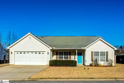 Easley Single Family Home For Sale: 126 Upward