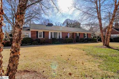Greenville Single Family Home For Sale: 216 E Blue Ridge