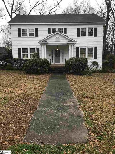 Clinton Single Family Home Contingency Contract: 301 W Maple