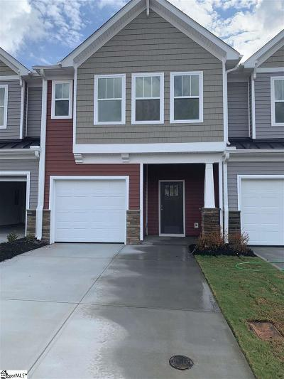 Greenville County Condo/Townhouse For Sale: 102 Mayfair Station #48