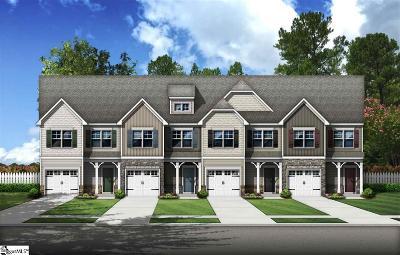 Simpsonville Condo/Townhouse For Sale: 511 Milbury #Lot 91