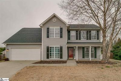 Easley Single Family Home Contingency Contract: 9 Cardinal Woods