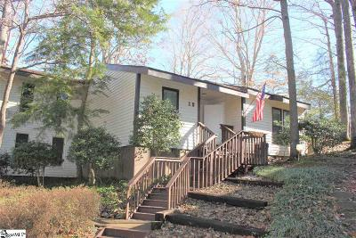 Greenville County Condo/Townhouse For Sale: 1 B Holly Woods