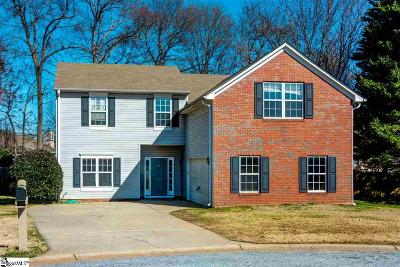Simpsonville Single Family Home For Sale: 122 Sentinel