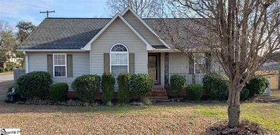 Greer Single Family Home Contingency Contract: 1196 Valentine