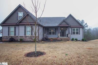 Easley Single Family Home For Sale: 417 Jericho Ridge