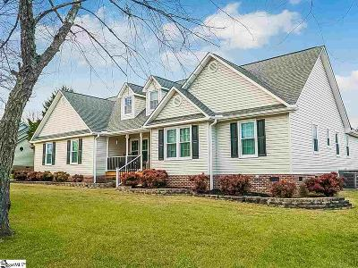 Fountain Inn Single Family Home For Sale: 5 Harvester