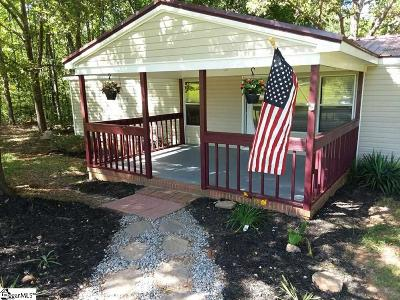 Greenville County Mobile Home For Sale: 185 Mountain Creek